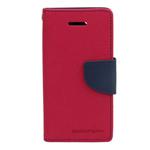 Чехол Mercury Goospery Fancy Diary Case для HTC Desire 610 (малиновый, кожаный)