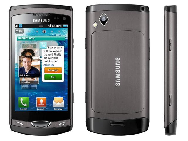 Samsung Wave II S8530 (серый)