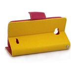 Чехол Mercury Goospery Fancy Diary Case для LG L70 D325 (желтый, кожаный)
