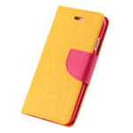 Чехол Mercury Goospery Fancy Diary Case для Apple iPhone 6 (желтый, кожаный)