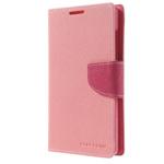 Чехол Mercury Goospery Fancy Diary Case для Nokia XL (розовый, кожаный)