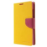 Чехол Mercury Goospery Fancy Diary Case для Nokia XL (желтый, кожаный)