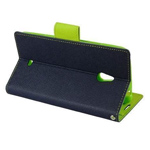 Чехол Mercury Goospery Fancy Diary Case для Nokia XL (синий, кожаный)
