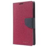 Чехол Mercury Goospery Fancy Diary Case для Nokia XL (малиновый, кожаный)
