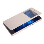 Чехол Nillkin Sparkle Leather Case для Lenovo S860 (золотистый, кожаный)