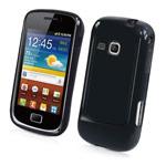 Чехол Yotrix SoftCase для Samsung Galaxy Mini 2 S6500 (гелевый, черный)