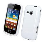 Чехол Yotrix SoftCase для Samsung Galaxy Mini 2 S6500 (гелевый, белый)
