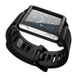 Браслет LunaTik для Apple iPod nano (6th gen) (черный)