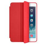 Чехол Apple iPad mini Smart Case (красный, кожаный)