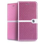Чехол Nillkin Ice Leather case для Apple iPhone 6 (розовый, кожаный)