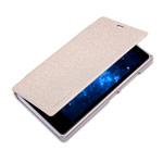 Чехол Nillkin Sparkle Leather Case для Nokia X2 (золотистый, кожаный)