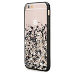 Чехол X-doria Scene Plus Case для Apple iPhone 6 (Gold Digital Dust, пластиковый)