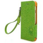 Чехол X-doria Dash Folio Fruit case для Apple iPhone 6 (зеленый, кожаный)