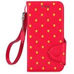 Чехол X-doria Dash Folio Fruit case для Apple iPhone 6 (красный, кожаный)