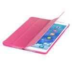 Чехол RGBMIX Smart Folding Case для Apple iPad Air (розовый, кожаный)