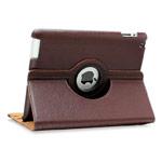 Чехол WhyNot Rotation Case для Apple iPad 2/new iPad (коричневый, кожаный) (NPG)
