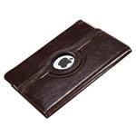 Чехол WhyNot Rotation Smooth для Apple iPad 2/new iPad (коричневый, кожаный) (NPG)