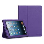Чехол WhyNot Folio Case для Apple iPad 2/new iPad (фиолетовый, кожаный) (NPG)