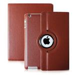Чехол WhyNot Rotation Case для Apple iPad 2/new iPad (светло-коричневый, кожаный) (NPG)
