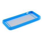 Чехол Jekod Composite case для Apple iPhone 5/5S (синий, гелевый/пластиковый)