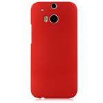 Чехол Yotrix HardCase для HTC new One (HTC M8) (красный, пластиковый)
