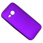 Чехол Yotrix HardCase для HTC One mini 2 (HTC M8 mini) (фиолетовый, пластиковый)