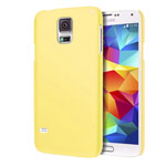 Чехол Yotrix HardCase для Samsung Galaxy S5 SM-G900 (желтый, пластиковый)