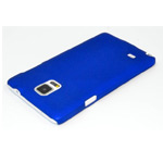 Чехол Yotrix HardCase для Samsung Galaxy Note 4 N910 (синий, пластиковый)