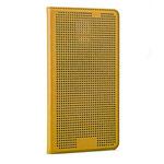 Чехол Yotrix DotCase Flip для Samsung Galaxy S5 SM-G900 (золотистый, кожаный)
