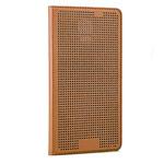 Чехол Yotrix DotCase Flip для Samsung Galaxy S5 SM-G900 (коричневый, кожаный)