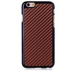 Чехол Yotrix CarbonCase для Apple iPhone 6 plus (коричневый, пластиковый)