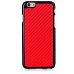 Чехол Yotrix CarbonCase для Apple iPhone 6 plus (красный, пластиковый)