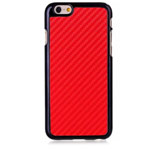 Чехол Yotrix CarbonCase для Apple iPhone 6 (красный, пластиковый)