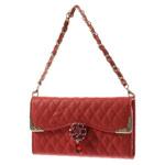Чехол Yotrix Handbag Case для Apple iPhone 6 plus (красный, кожаный)