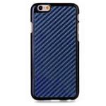 Чехол Yotrix CarbonCase для Apple iPhone 6 plus (темно-синий, пластиковый)