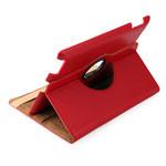 Чехол WhyNot Rotation Case для Apple iPad 2/new iPad (красный, кожаный) (NPG)