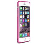 Чехол Yotrix BumperArc для Apple iPhone 6 (малиновый, алюминиевый)