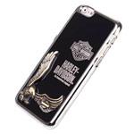Чехол Harley Davidson An American Legend для Apple iPhone 6 plus (черный, металлический)