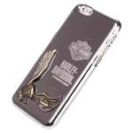 Чехол Harley Davidson An American Legend для Apple iPhone 6 plus (серебристый, металлический)