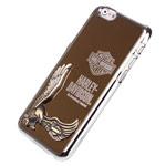 Чехол Harley Davidson An American Legend для Apple iPhone 6 plus (золотистый, металлический)
