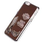 Чехол Harley Davidson An American Legend для Apple iPhone 6 plus (бронзовый, металлический)