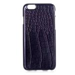 Чехол Yotrix CrocodileCase для Apple iPhone 6 (черный, кожаный)