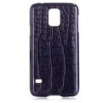 Чехол Yotrix CrocodileCase для Samsung Galaxy S5 SM-G900 (черный, кожаный)