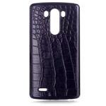 Чехол Yotrix CrocodileCase для LG G3 D850 (черный, кожаный)