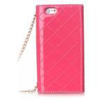 Чехол Yotrix WalletFlip Case для Apple iPhone 6 plus (розовый, кожаный)