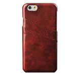 Чехол Yotrix CardSlot Case для Apple iPhone 6 plus (коричневый, кожаный)