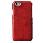 Чехол Yotrix CardSlot Case для Apple iPhone 6 plus (красный, кожаный)
