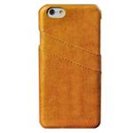 Чехол Yotrix CardSlot Case для Apple iPhone 6 plus (желтый, кожаный)