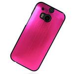 Чехол Yotrix MetalCase для HTC new One (HTC M8) (розовый, алюминиевый)