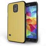 Чехол Yotrix MetalCase для Samsung Galaxy S5 SM-G900 (золотистый, алюминиевый)